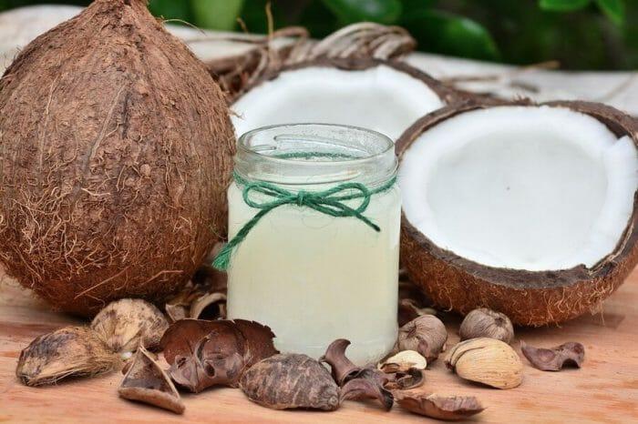 Olej kokosowy w kosmetyce